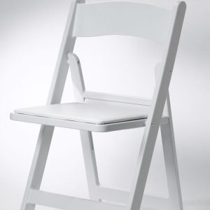 White/Black Garden Chairs