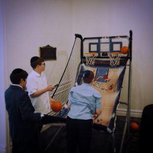 Pop-Shot Basketball