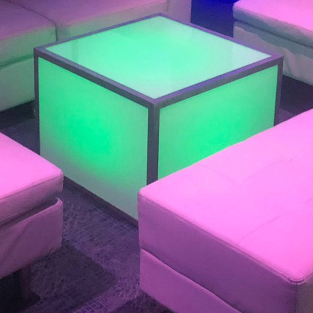 LED Table Options
